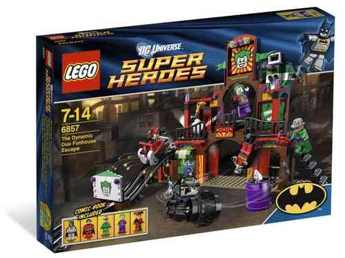 Lego Super Heroes 6857 Dynamic Duo Funhouse Flucht Neu & Ovp